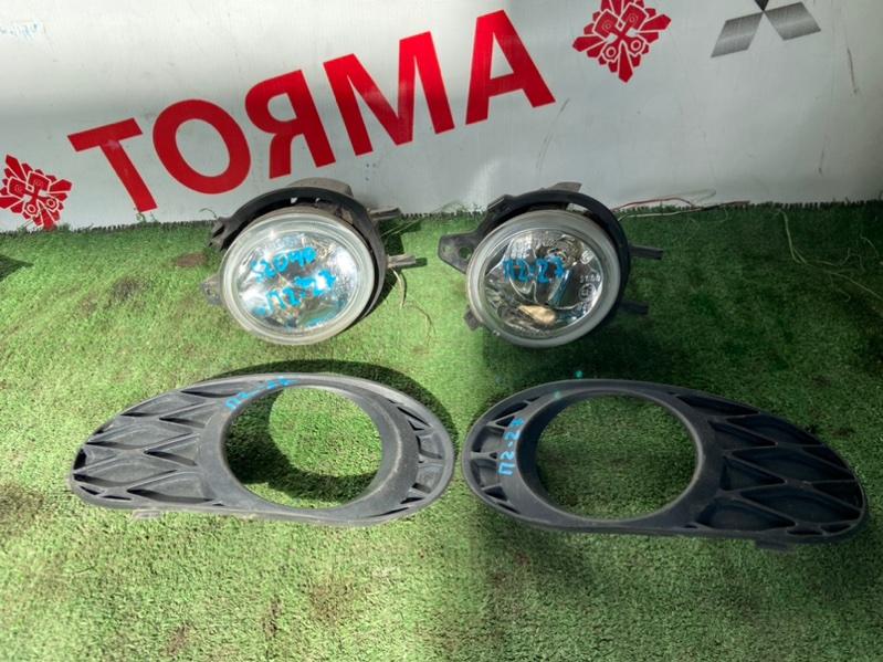 Туманка Toyota Funcargo NCP20 левая