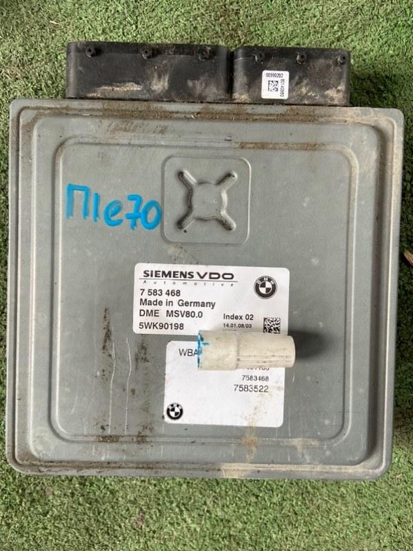 Блок управления efi Bmw X5 E70 02/2008