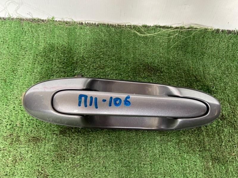 Ручка двери внешняя Mazda Mpv LW3W задняя левая