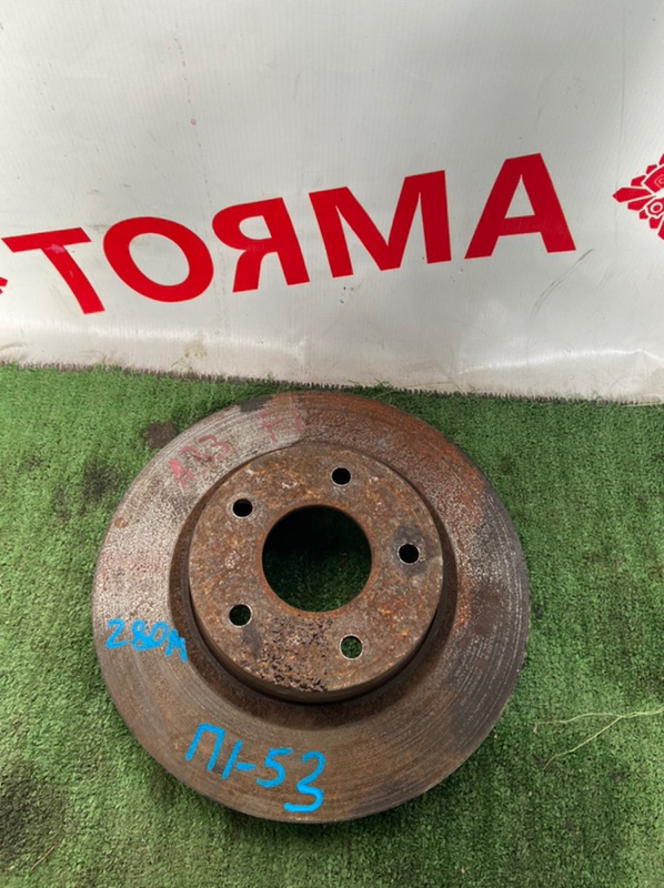 Тормозной диск Nissan Cefiro A33 передний