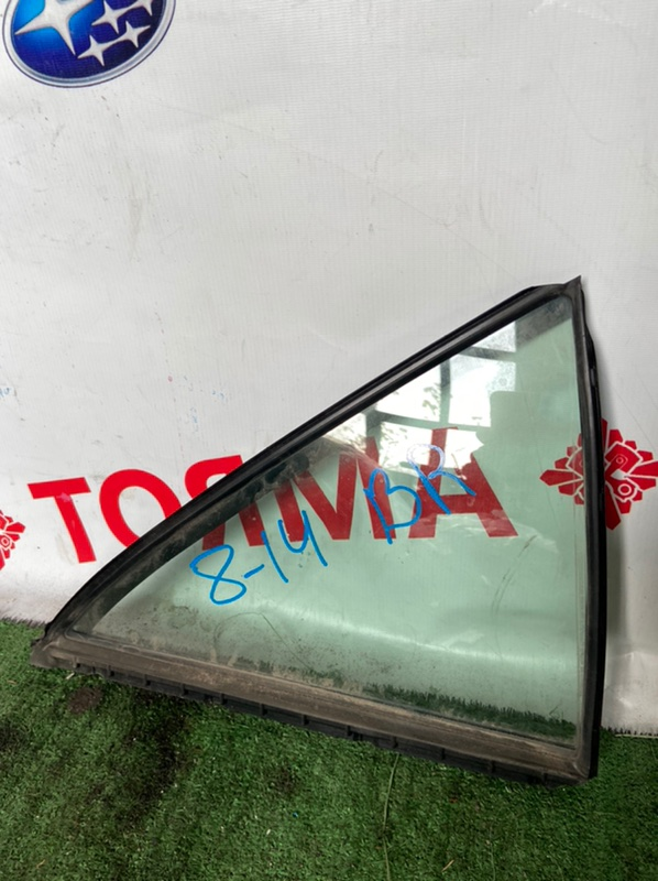 Стекло двери Toyota Camry ACV40 2AZ 2006 заднее правое