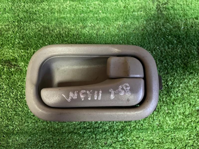 Ручка двери внутренняя Nissan Wingroad VENY11 QG15 задняя правая