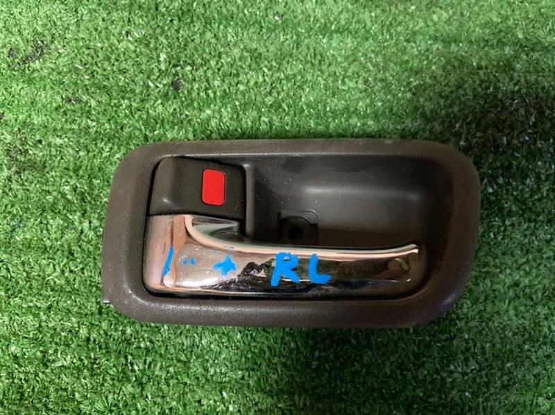 Ручка двери внутренняя Toyota Chaser GX100 1G задняя левая