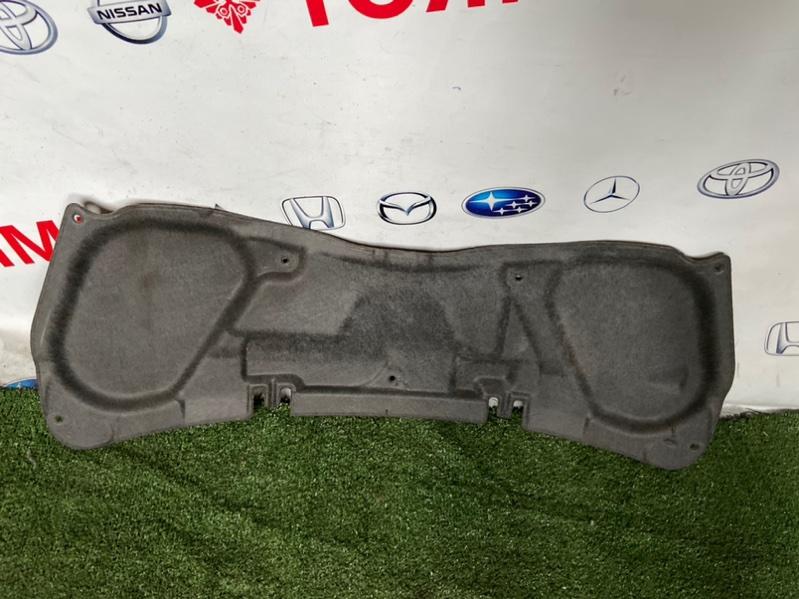 Обшивка капота Honda Fit GD1