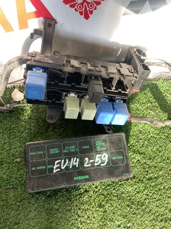 Блок предохранителей Nissan Bluebird EU14 SR18