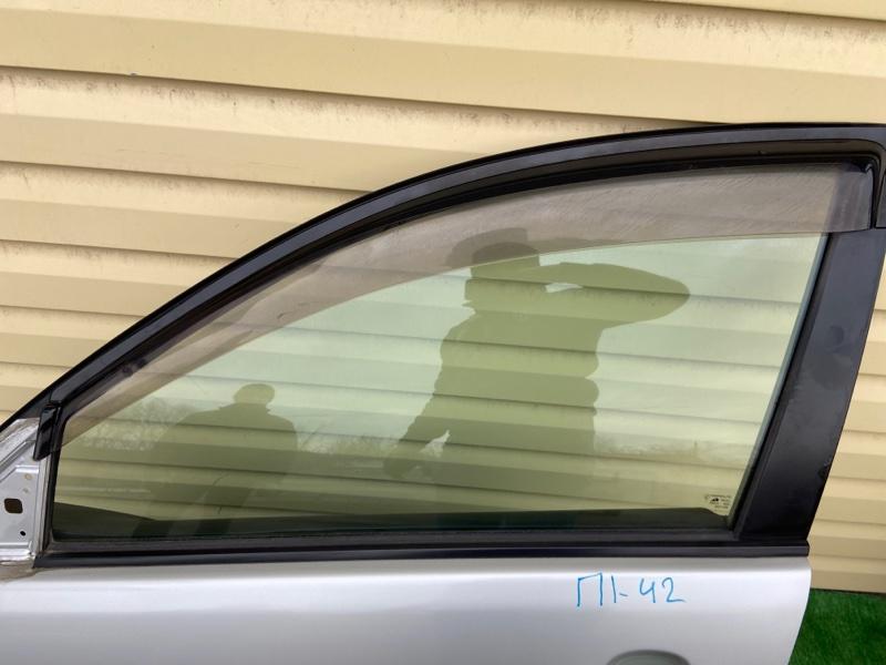 Стекло двери Toyota Voltz ZZE136 переднее левое