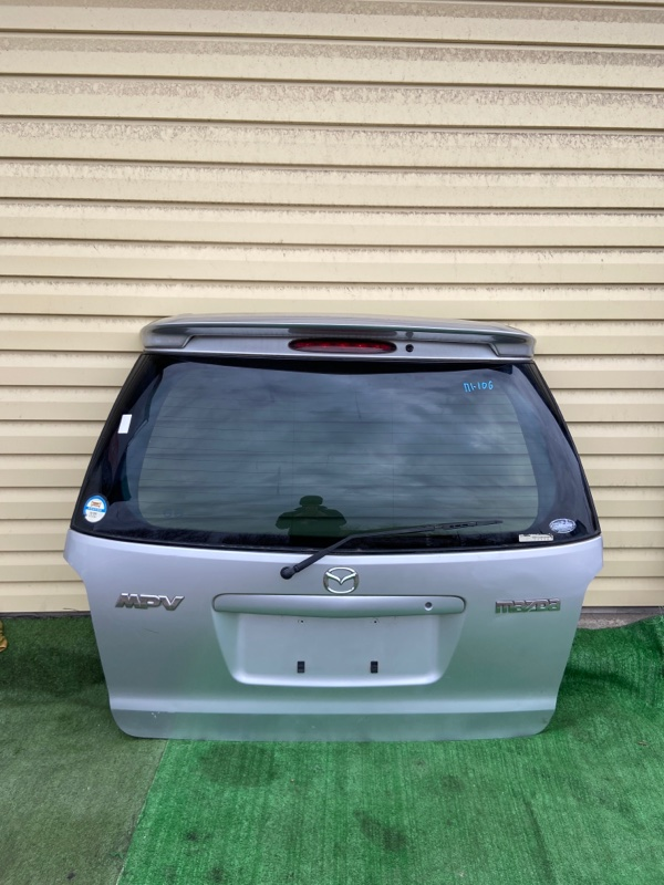 Дверь 5-я Mazda Mpv LW3W 2005