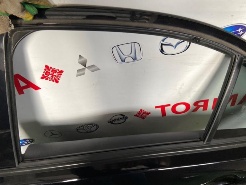 Стекло двери Mitsubishi Galant Fortis CX1A 2008.02.1 заднее левое