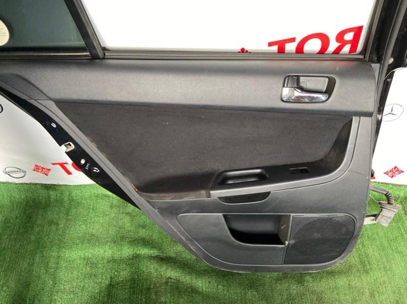 Обшивка дверей Mitsubishi Galant Fortis CX3A 2008.02.1 задняя левая