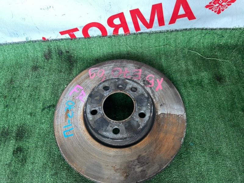 Тормозной диск Bmw X5 E70 передний