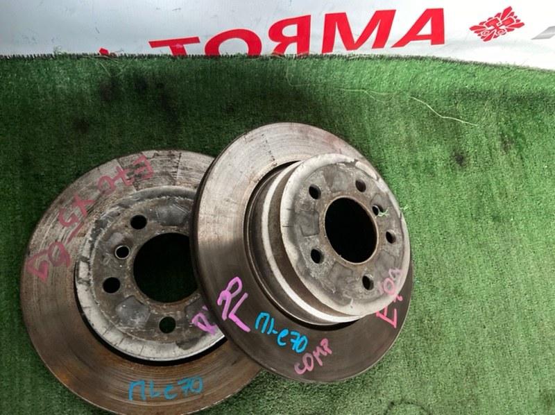 Тормозной диск Bmw X5 E70 задний