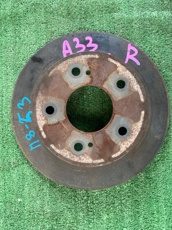 Тормозной диск Nissan Cefiro A33 задний
