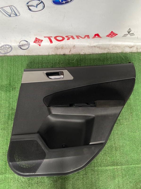 Обшивка дверей Subaru Forester SH5 задняя правая
