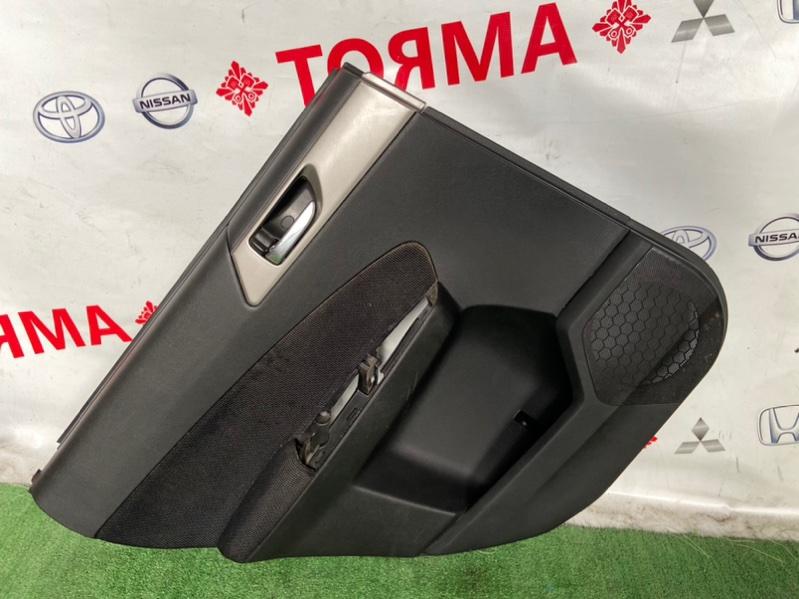 Обшивка дверей Subaru Forester SH5 задняя левая