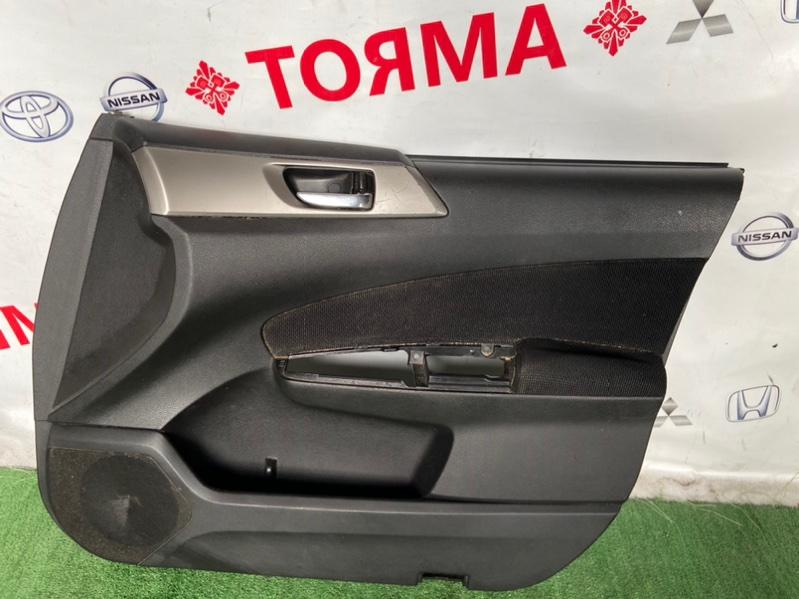 Обшивка дверей Subaru Forester SH5 передняя правая