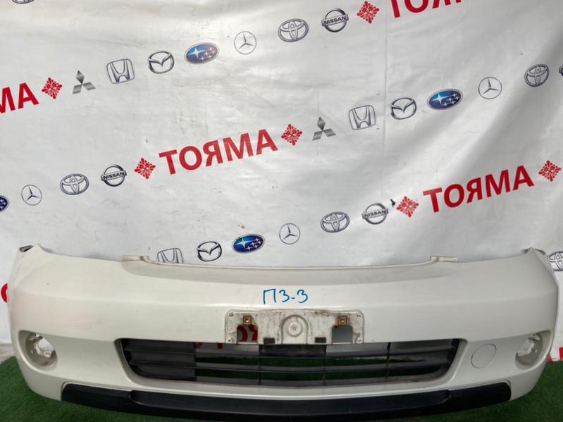 Бампер Toyota Ist NCP60 передний