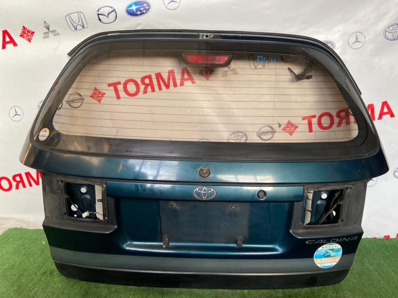 Дверь 5-я Toyota Caldina AT191