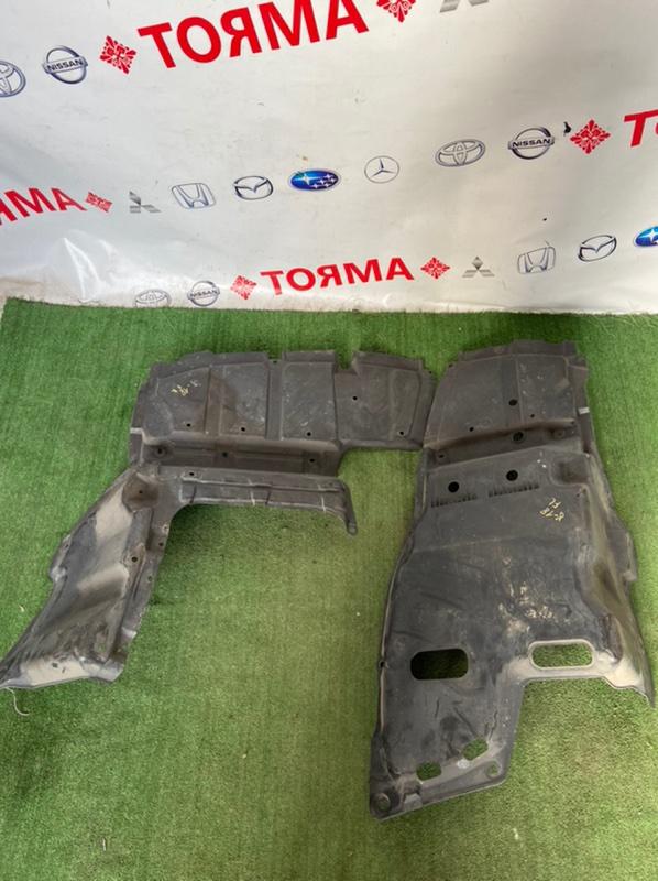 Защита двигателя Toyota Avensis ADT250 1AZ 2006 нижняя