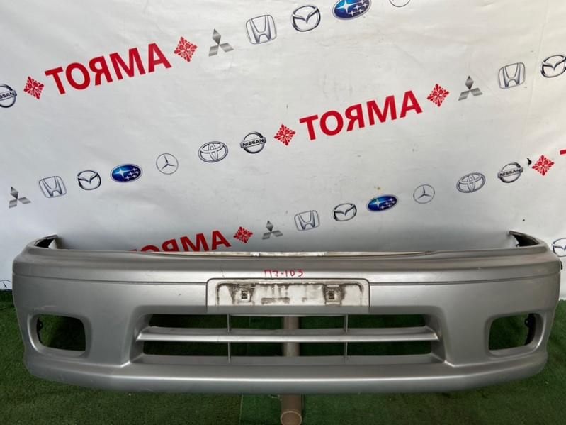 Бампер Mazda Demio DW3W 1999 передний