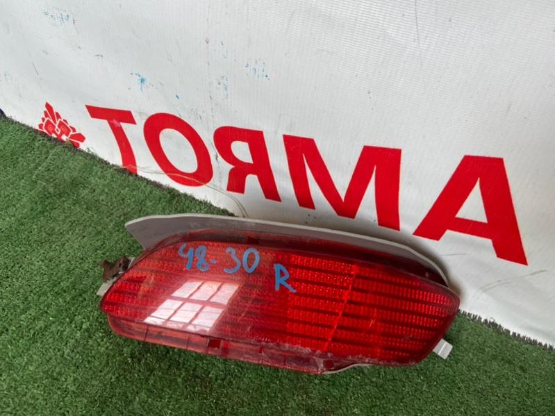 Катафот в бампер Toyota Harrier ACU30W правый