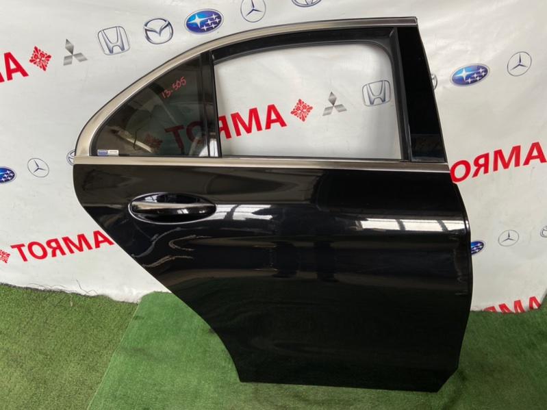 Дверь Mercedes C-Class W205 2019 задняя правая