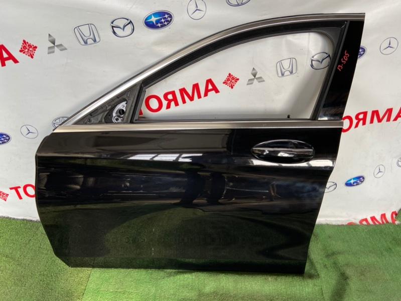 Дверь Mercedes C-Class W205 2019 передняя левая