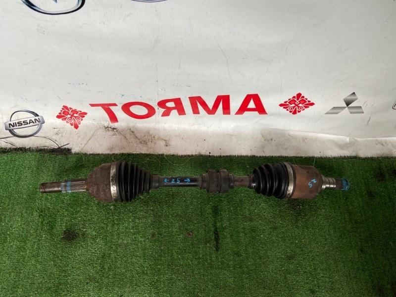 Привод Nissan Tiida C11 HR15 передний левый