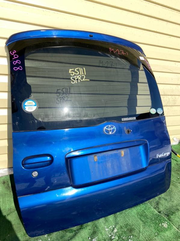 Дверь 5-я Toyota Funcargo NCP20