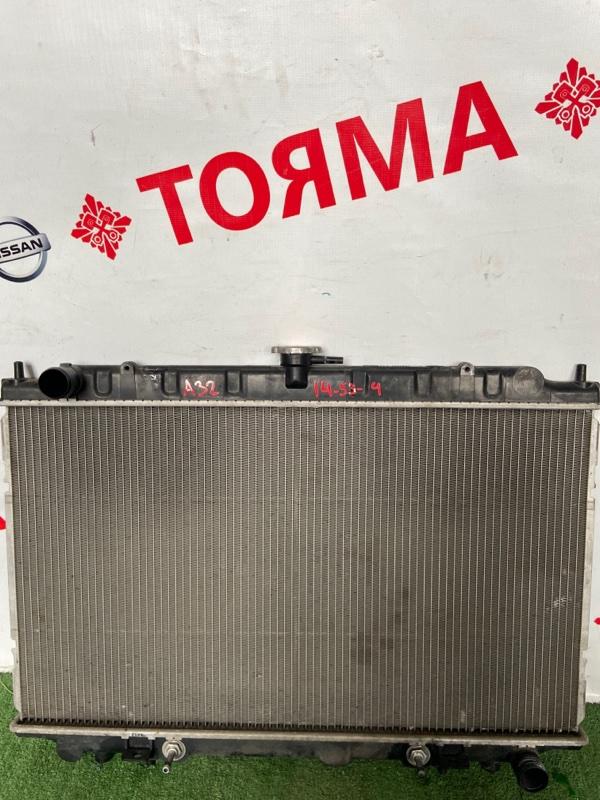 Радиатор основной Nissan Cefiro A32 VQ20-DE