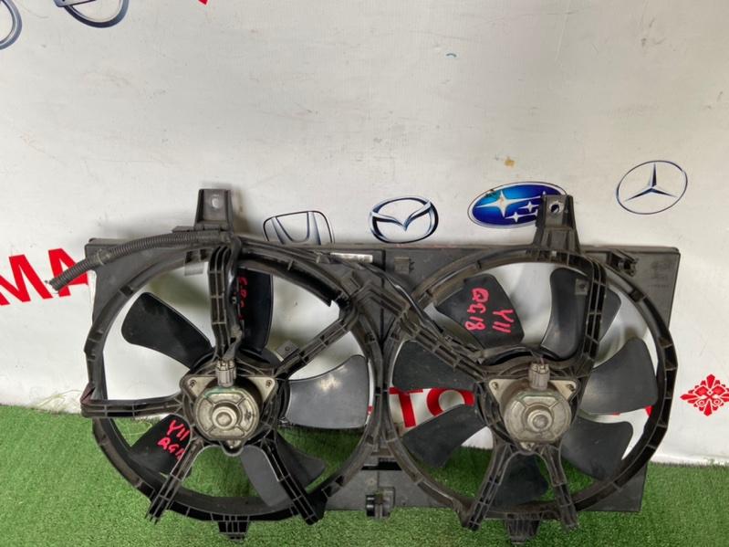 Диффузор радиатора Nissan Ad B15 QG13-DE