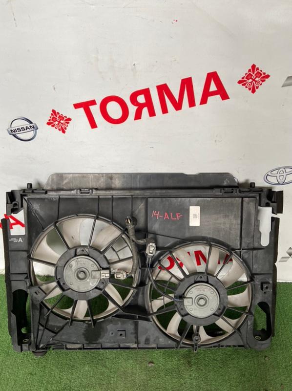 Диффузор радиатора Toyota Alphard ANH20