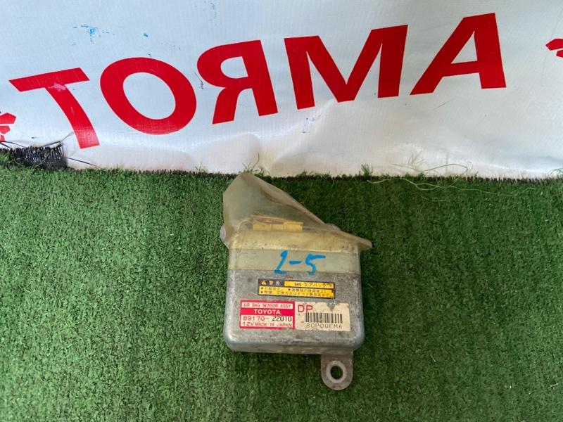 Блок управления airbag Toyota Mark Ii GX100 1G