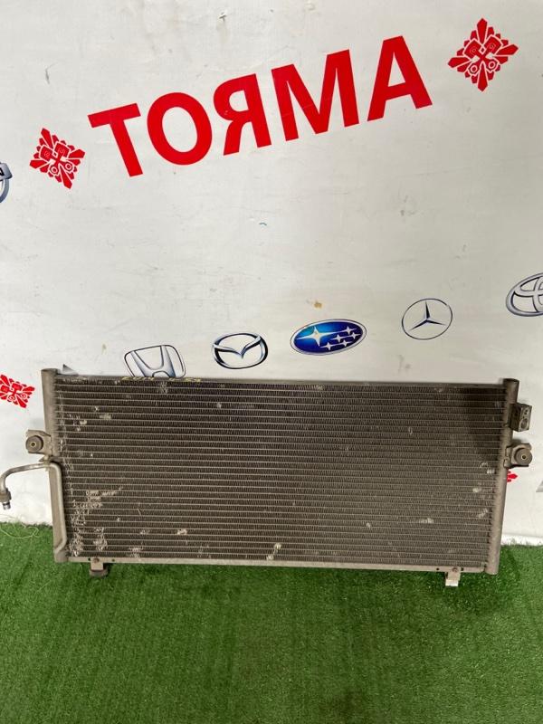 Радиатор кондиционера Nissan Bluebird EU14 SR18 Серебро