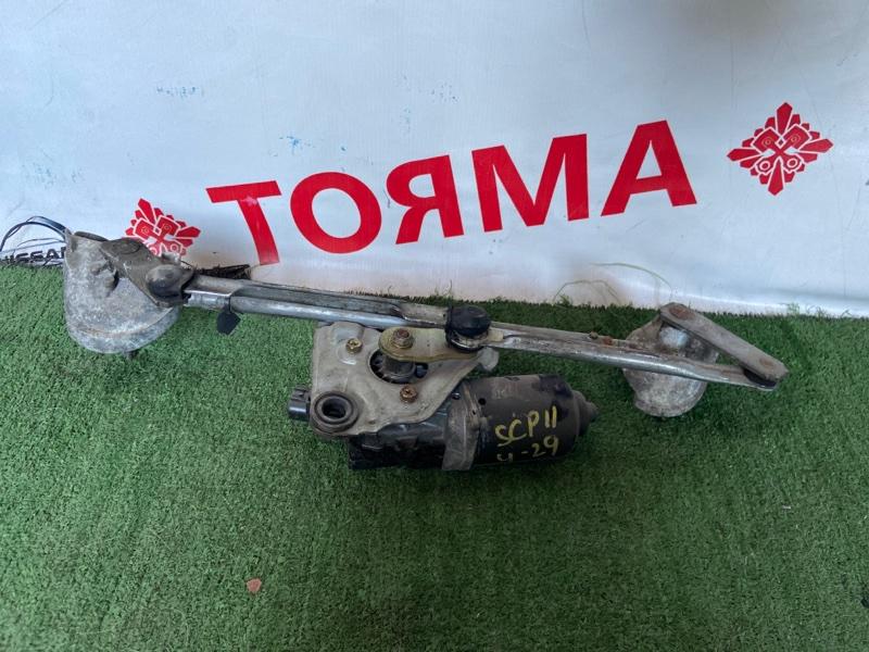 Мотор дворников Toyota Platz SCP11 1SZ