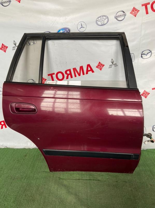 Дверь Toyota Caldina AT191 3S 1995 задняя правая