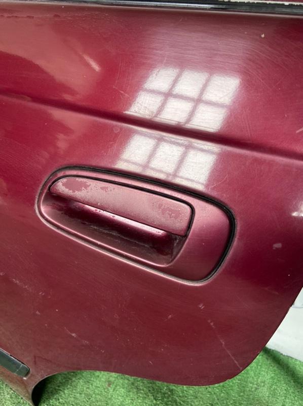 Ручка двери внешняя Toyota Caldina AT191 задняя левая