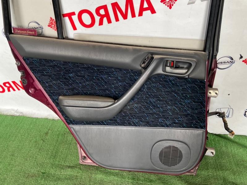 Обшивка дверей Toyota Caldina AT191 задняя левая
