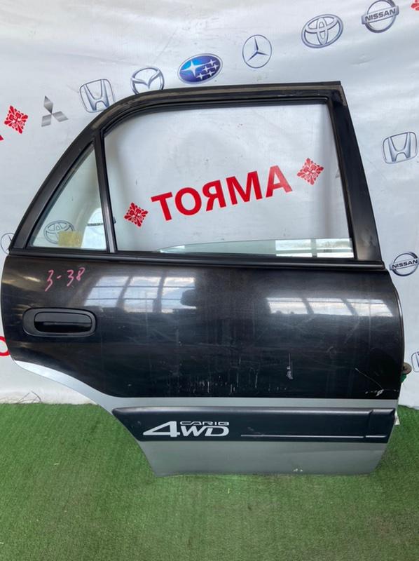 Дверь Toyota Sprinter Carib AE111 7A 1995 задняя правая