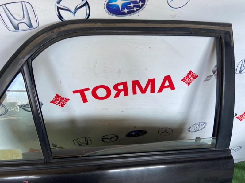 Стекло двери Toyota Carib AE115 7A заднее правое