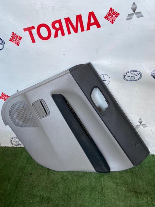 Обшивка дверей Subaru Forester SG5 EJ205 2005 задняя правая