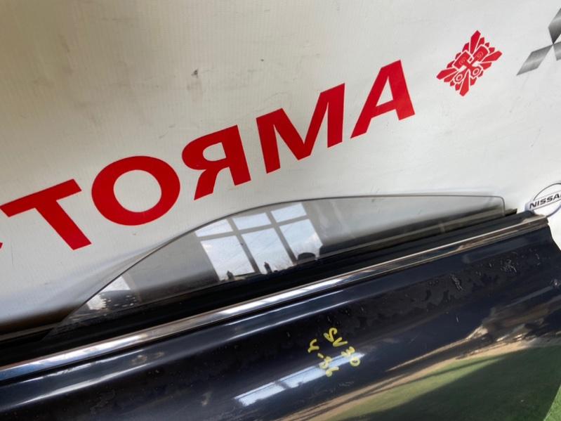 Стекло двери Toyota Vista CV30 заднее правое
