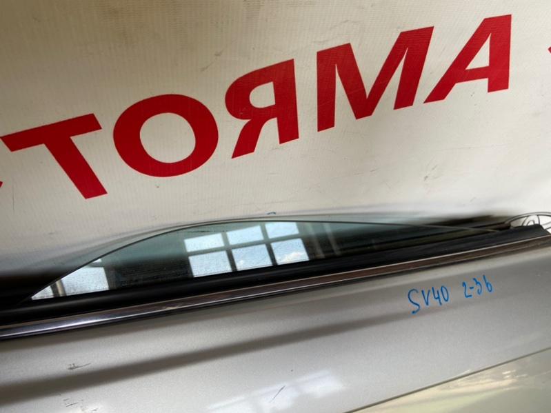 Стекло двери Toyota Vista CV40 заднее правое