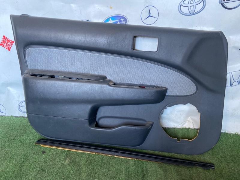 Обшивка дверей Toyota Corsa EL51 передняя левая