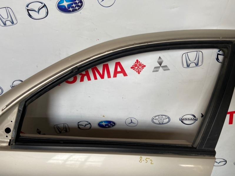 Стекло двери Nissan Bluebird Sylphy FG10 QG18 2002 переднее левое