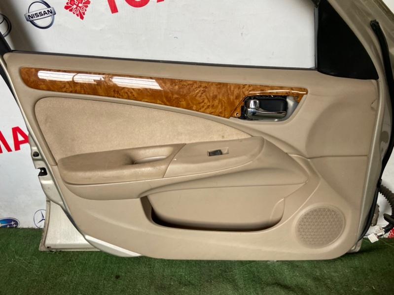 Обшивка дверей Nissan Bluebird Sylphy FG10 QG18 2002 передняя левая