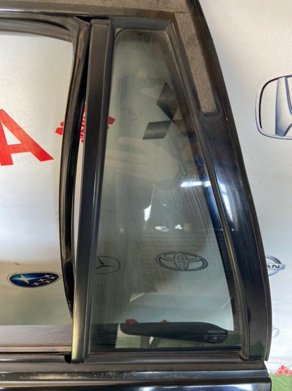 Стекло двери Toyota Corolla Fielder NZE120 заднее левое