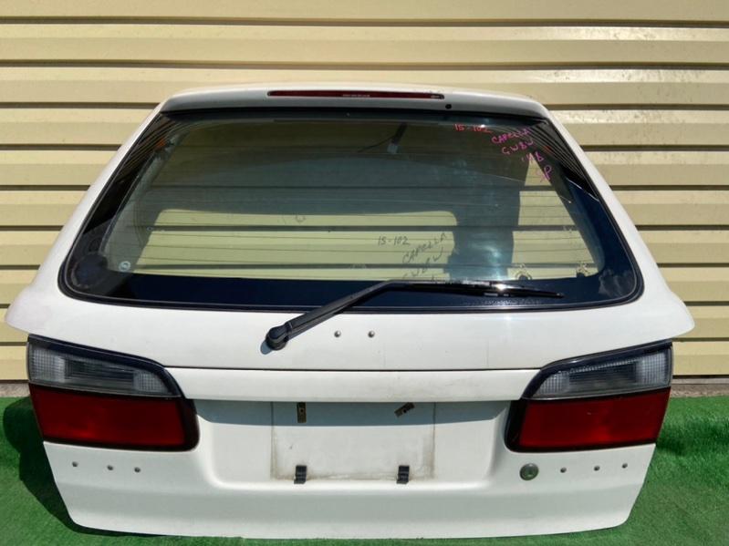 Дверь 5-я Mazda Capella GW8W