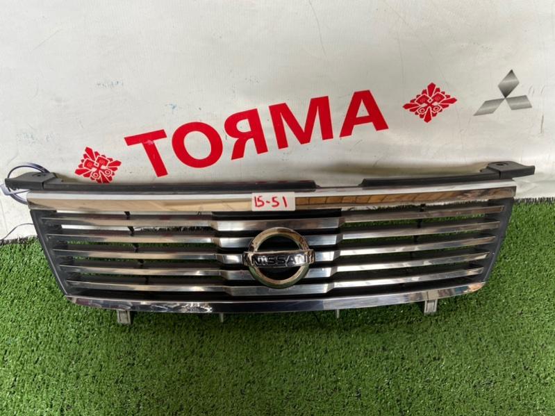 Решетка радиатора Nissan Sunny B15