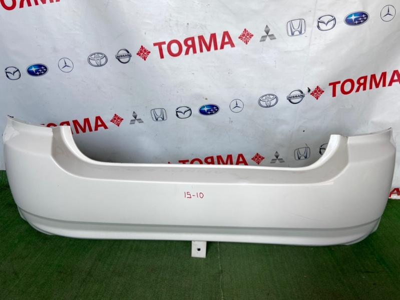 Бампер Toyota Allex NZE121 задний