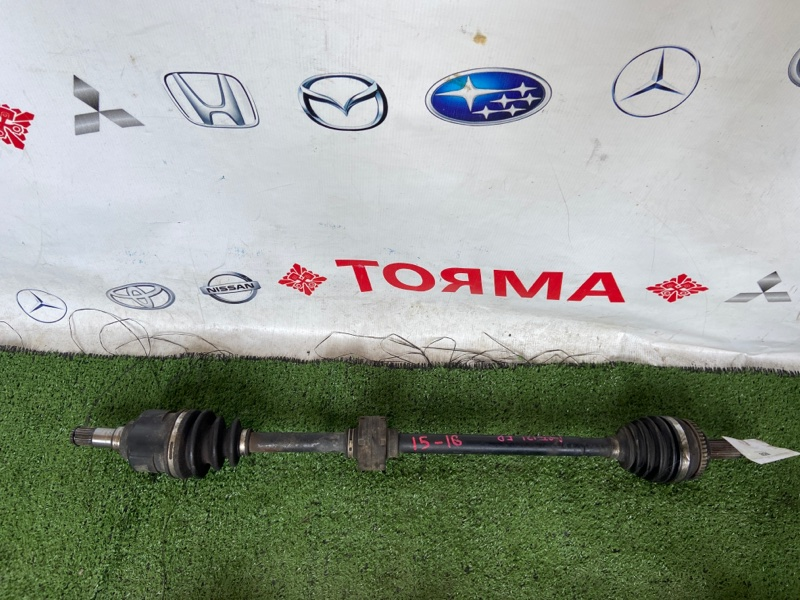 Привод Toyota Allex NZE120 1NZ-FE передний правый